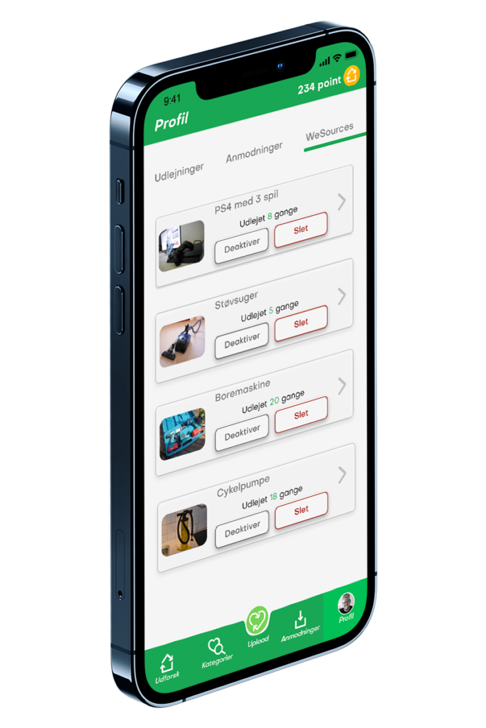 App WeSources page